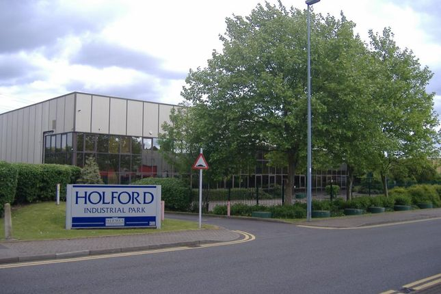 Industrial to let in Unit 6 Holford Industrial Park, Holford Way, Birmingham