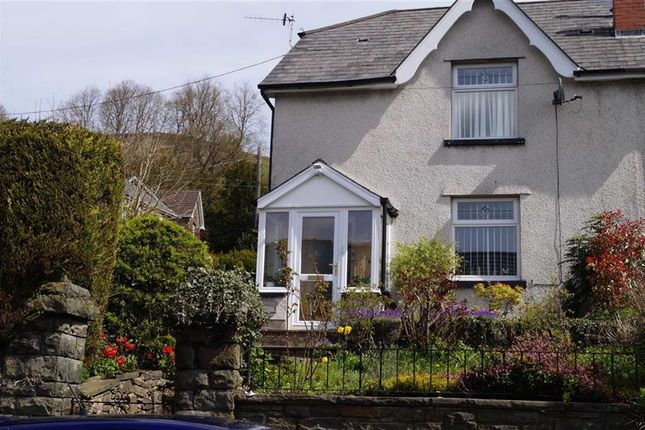 Thumbnail Semi-detached house for sale in Lewis Street, Mountain Ash