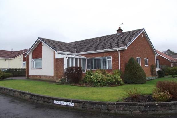 Thumbnail Bungalow to rent in Finnick Glen, Ayr