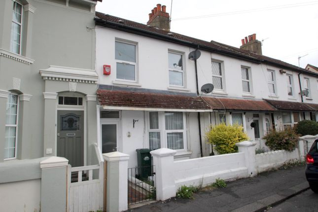 Thumbnail Terraced house to rent in Wolseley Road, Portslade, Brighton