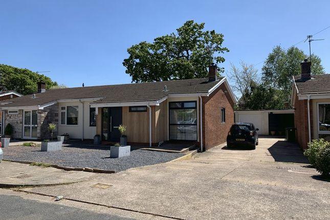 Thumbnail Semi-detached bungalow for sale in Rhos Llan, Rhiwbina, Cardiff