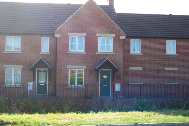 Thumbnail Terraced house to rent in Longridge Way, Weston-Super-Mare
