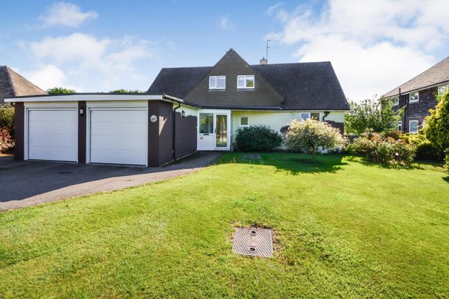 Thumbnail Detached bungalow for sale in Clavering Walk, Bexhill On Sea