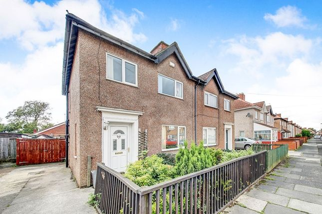 Thumbnail Semi-detached house for sale in Princes Gardens, Blyth