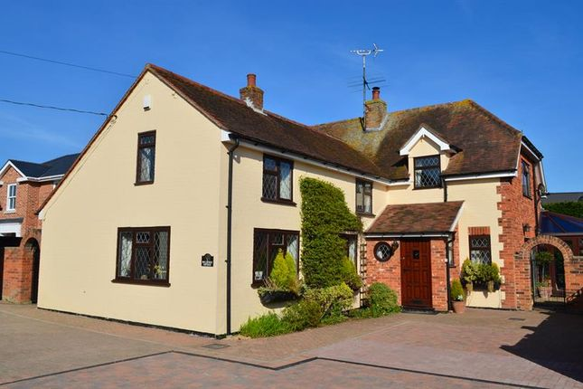 Thumbnail Detached house for sale in Mersea Road, Langenhoe, Colchester