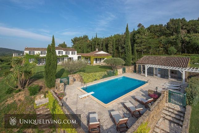 Thumbnail Villa for sale in Grimaud, St Tropez, French Riviera