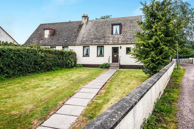 Thumbnail Semi-detached house for sale in Park Terrace, Strathpeffer, Ross-Shire