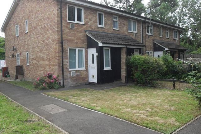 Thumbnail End terrace house to rent in Tall Trees, Colnbrook, Slough