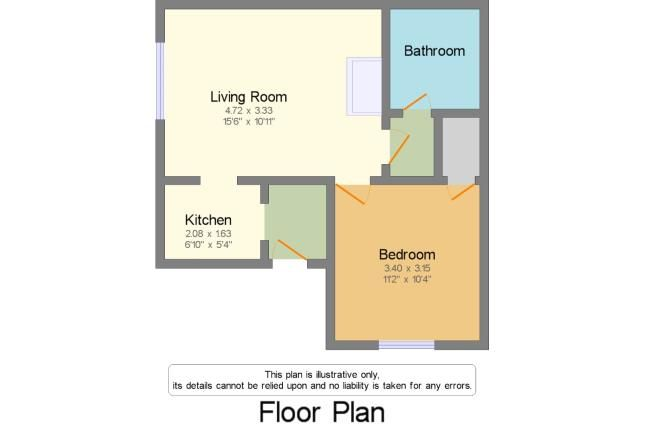 Floorplan of Warren Road, Dawlish, Devon EX7