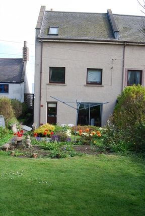 Thumbnail End terrace house for sale in West Street, Johnshaven, Montrose., Angus