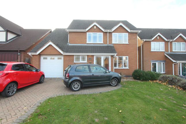 Thumbnail Detached house for sale in Brookdale, Hinckley