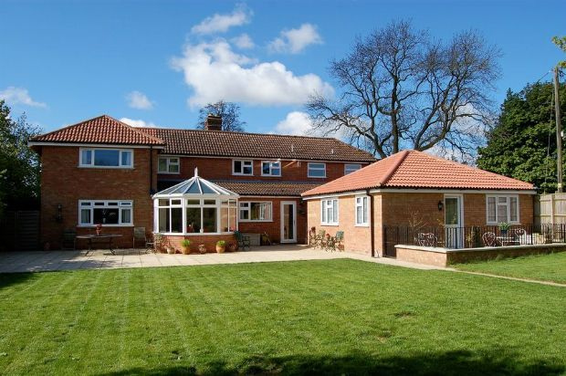 Thumbnail Detached house for sale in West Haddon Road, Guilsborough, Northampton