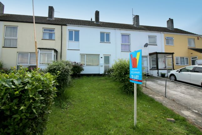Thumbnail Terraced house to rent in Beatrice Avenue, Saltash