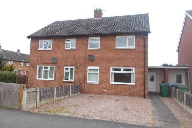 Thumbnail Semi-detached house to rent in Kynaston Road, Shrewsbury