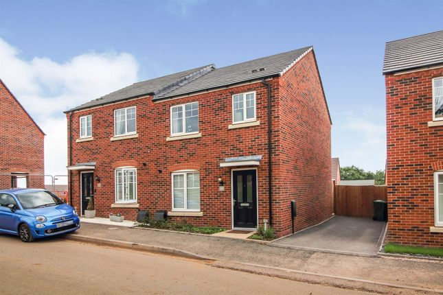 Thumbnail Semi-detached house for sale in Columbine Road, Droitwich