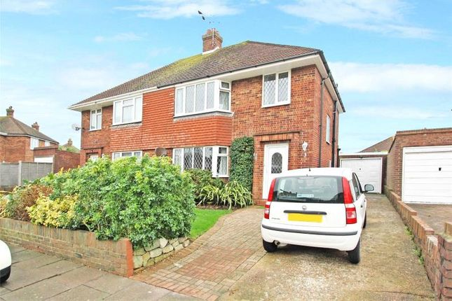 Thumbnail Semi-detached house for sale in Kelso Close, Worthing, West Sussex