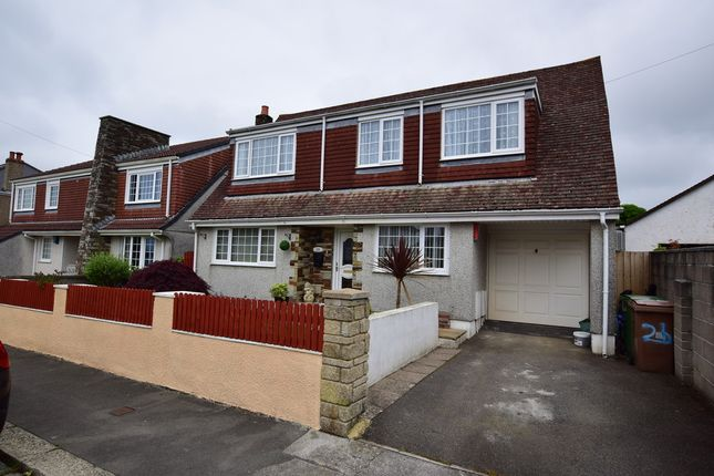 Thumbnail Detached house for sale in Corondale Road, Beacon Park, Plymouth