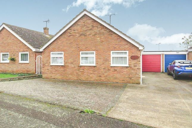 Thumbnail Detached bungalow for sale in Holmes Avenue, Raunds, Wellingborough