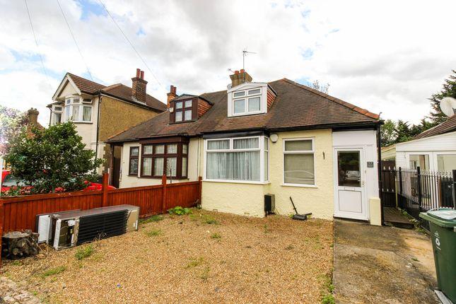 Thumbnail Semi-detached bungalow for sale in Avenue Industrial Estate, Justin Road, London