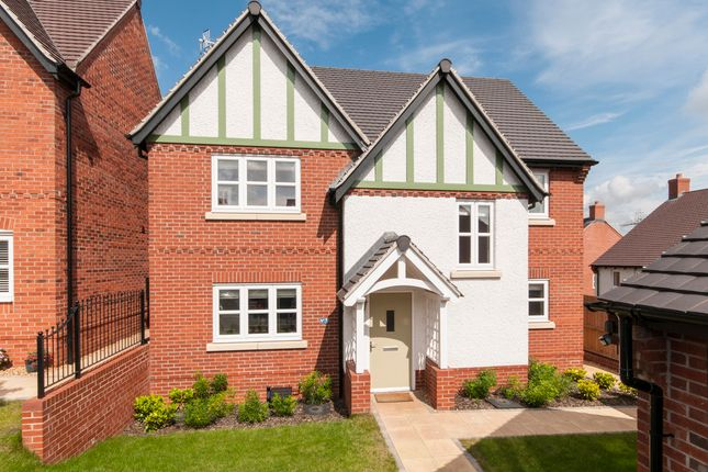 Thumbnail Detached house for sale in Martinet Close, Castle Donington, Derby
