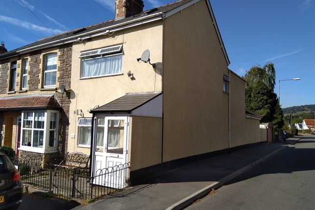 Thumbnail End Terrace House For Sale In Springfield Road Abergavenny