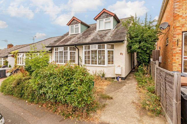 Thumbnail Semi-detached bungalow for sale in Milton Road, Ware