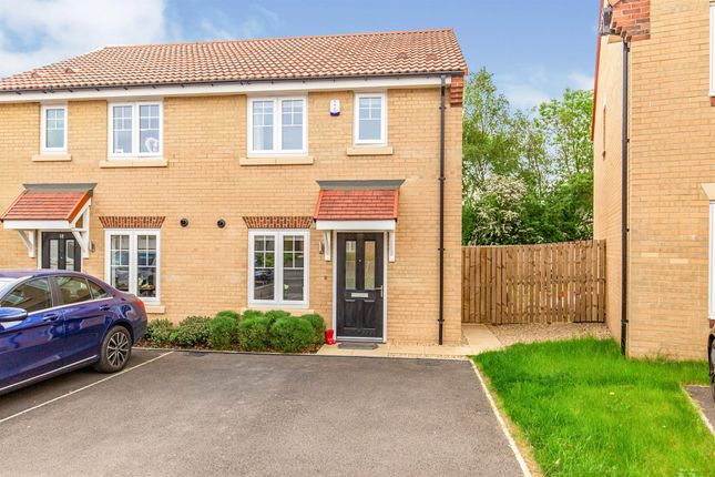 Thumbnail Semi-detached house for sale in Ramblers Way, Hemlington, Middlesbrough