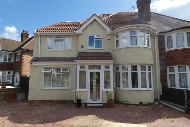 Thumbnail Semi-detached house to rent in Charminster Avenue, Yardley, Birmingham