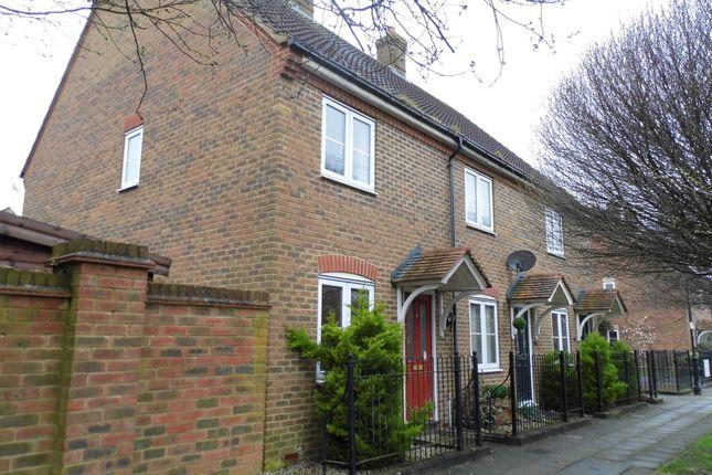 Thumbnail End terrace house to rent in Jeffrey Walk, Aylesbury