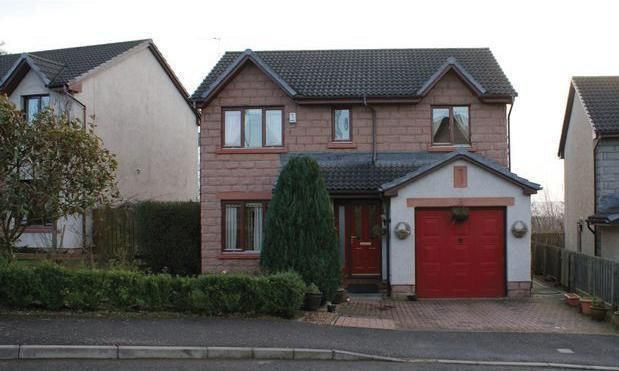 Thumbnail Detached house to rent in Mary Findlay Drive, Longforgan, Dundee