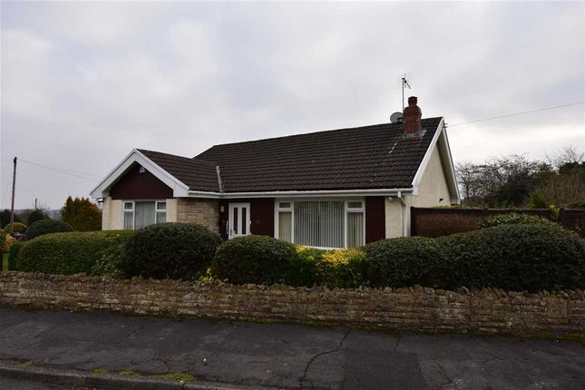 Thumbnail Detached bungalow for sale in Elm Road, Tutshill, Chepstow