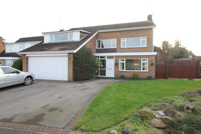 Thumbnail Detached house for sale in Sherborne Road, Burbage, Hinckley
