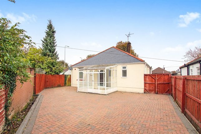 Thumbnail Detached bungalow for sale in Manor Way, Heath, Cardiff