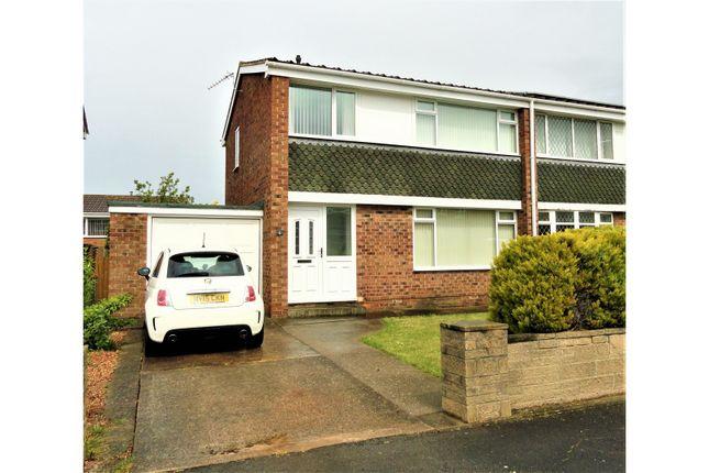 Thumbnail Semi-detached house for sale in Ashridge Close, Redcar