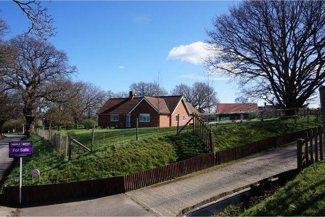 Thumbnail Detached bungalow for sale in Butley, Woodbridge