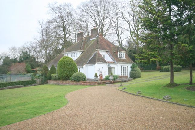 Thumbnail Detached house to rent in Burgh Heath Road, Epsom