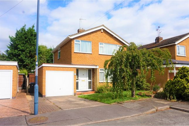 Thumbnail Detached house for sale in Ellastone Gardens, Derby