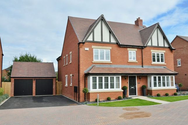 Thumbnail Detached house for sale in Shield Way, Bidford-On-Avon