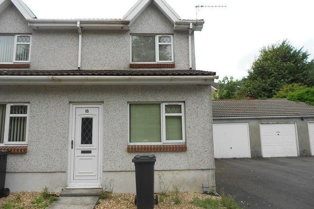 Thumbnail End terrace house to rent in Heol Camlas Cwmavon, Port Talbot, Neath Port Talbot.