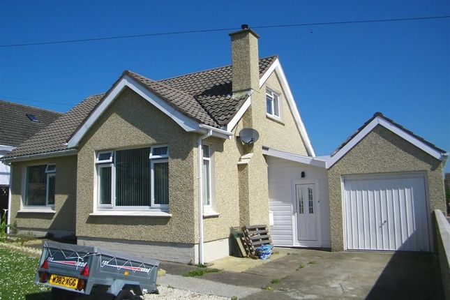 Thumbnail Detached bungalow for sale in Romilly Crescent, Hakin, Milford Haven