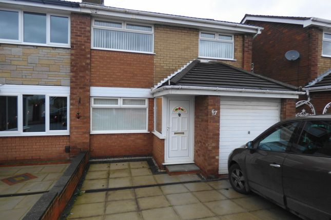 Thumbnail Semi-detached house to rent in Hinkley Road, Islands Brow