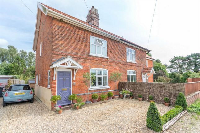 Thumbnail Semi-detached house for sale in Mill Road, Great Ryburgh, Fakenham