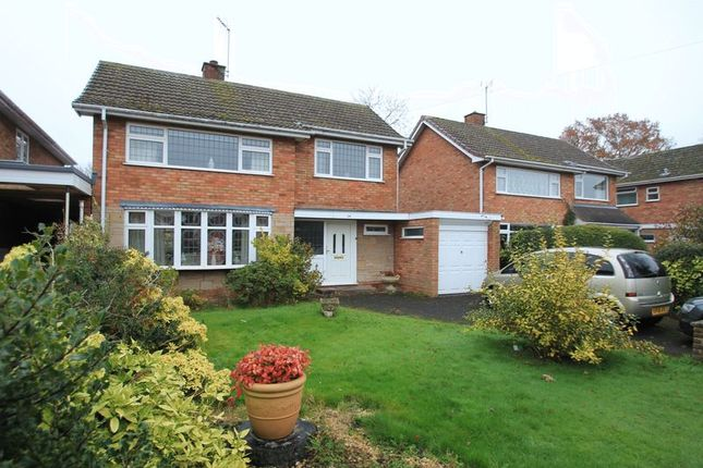 Thumbnail Detached house for sale in Ashleigh Crescent, Wheaton Aston, Stafford