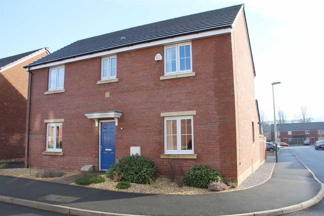 Thumbnail Detached house for sale in Long Heath Close, Virginia Close, Caerphilly