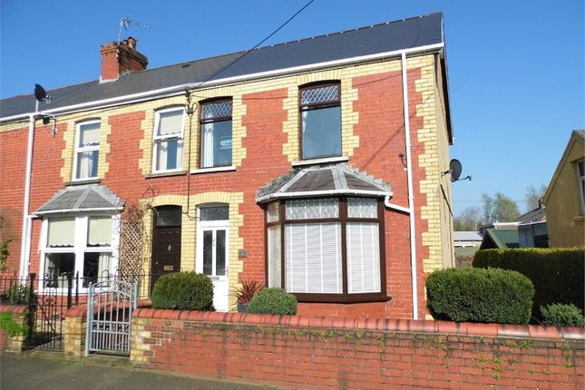 End terrace house for sale in St Brides Road, Aberkenfig, Bridgend, Mid Glamorgan