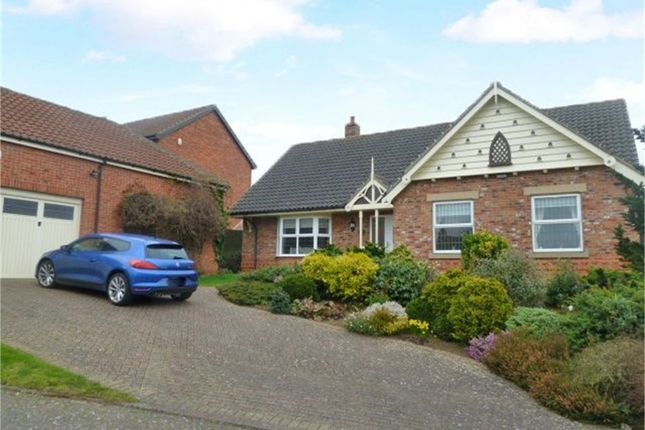 Thumbnail Detached bungalow for sale in Crackle Hill, Westwoodside, Doncaster, Lincolnshire