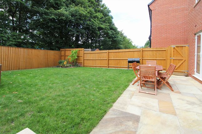 Garden of Manor House Court, Chesterfield S41