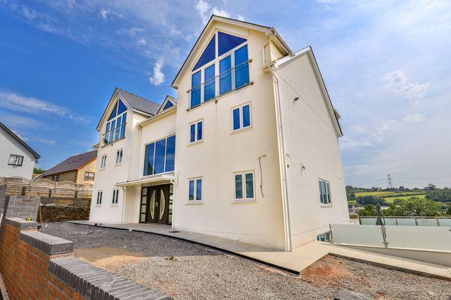 Thumbnail Detached house for sale in Abergarw Meadow, Brynmenyn, Bridgend