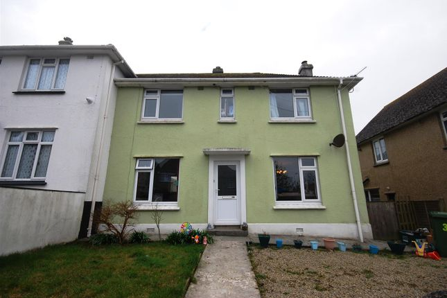 Thumbnail Semi-detached house for sale in Lower Peverell Road, Penzance