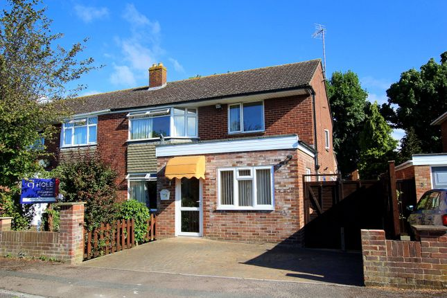Thumbnail Semi-detached house for sale in Rivermead Close, Longford, Gloucester